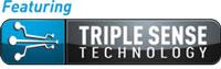 Featuring Triple Sense Technology
